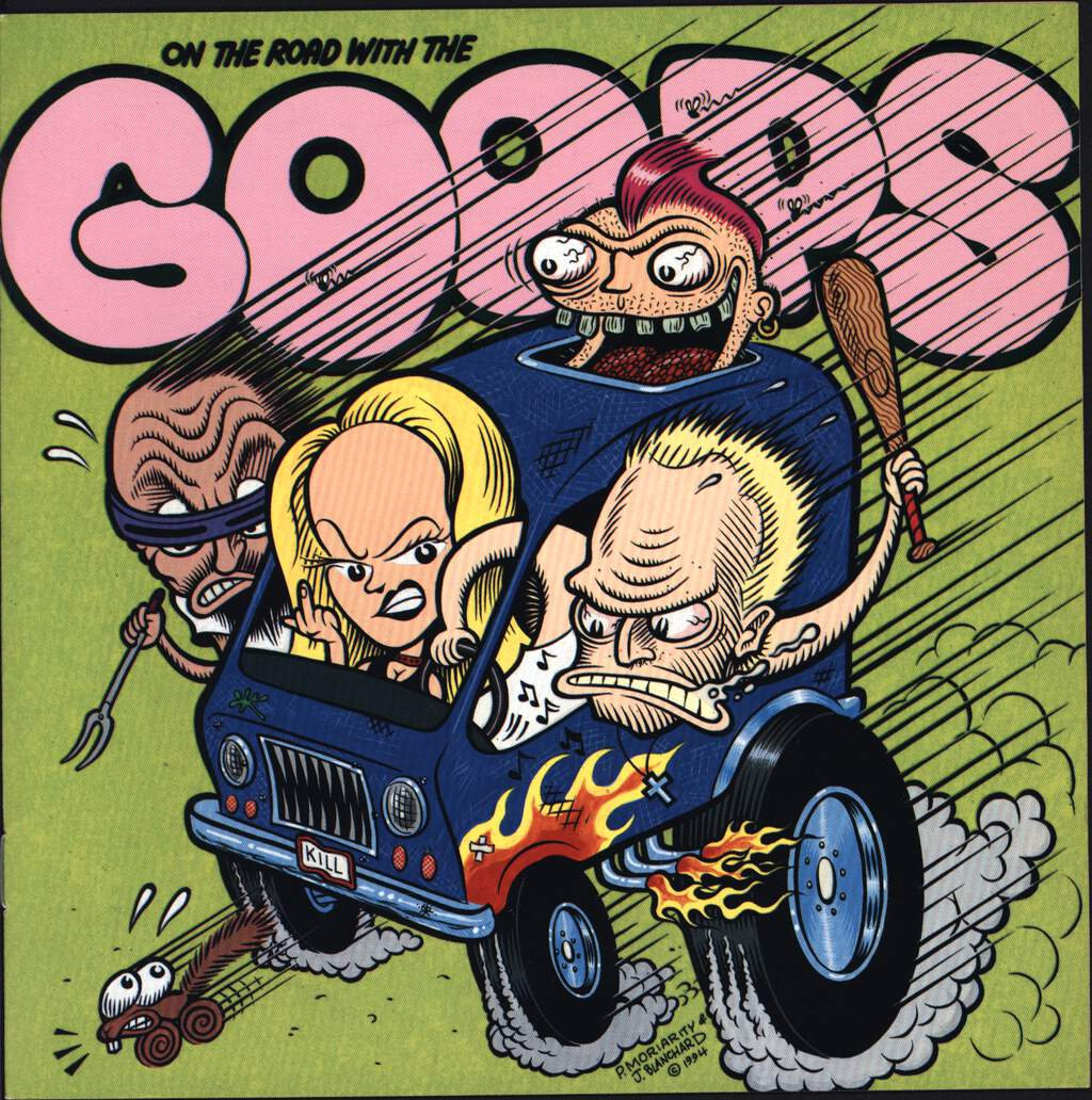"Goops: On The Road With The Goops, 7"" Single (Vinyl)"