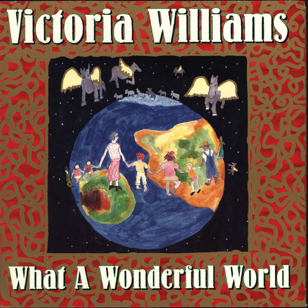 "Victoria Williams: What A Wonderful World, 7"" Single (Vinyl)"