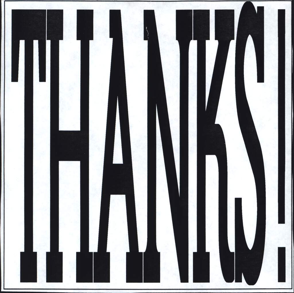 "Various: Thanks, 7"" Single (Vinyl)"
