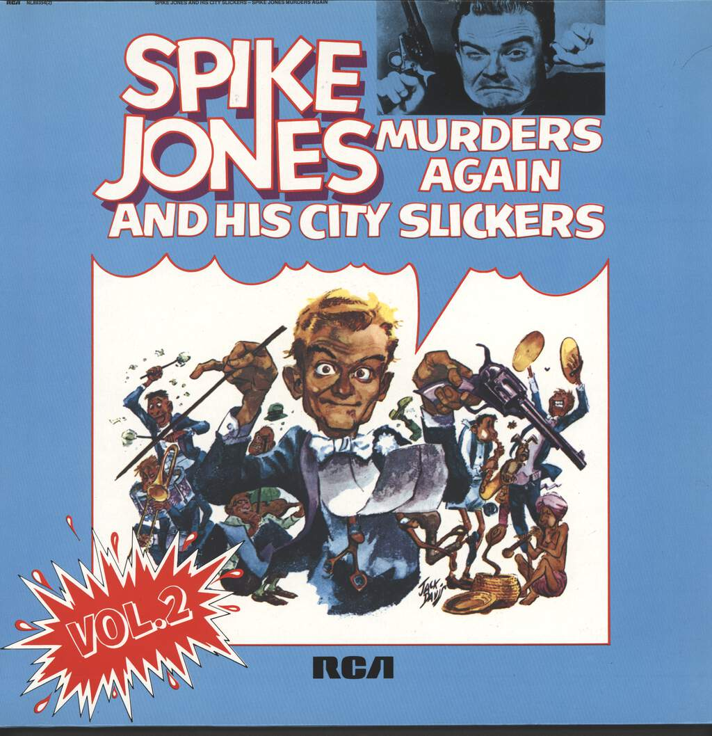 Spike Jones And His City Slickers: Murders Again - Vol.2, LP (Vinyl)