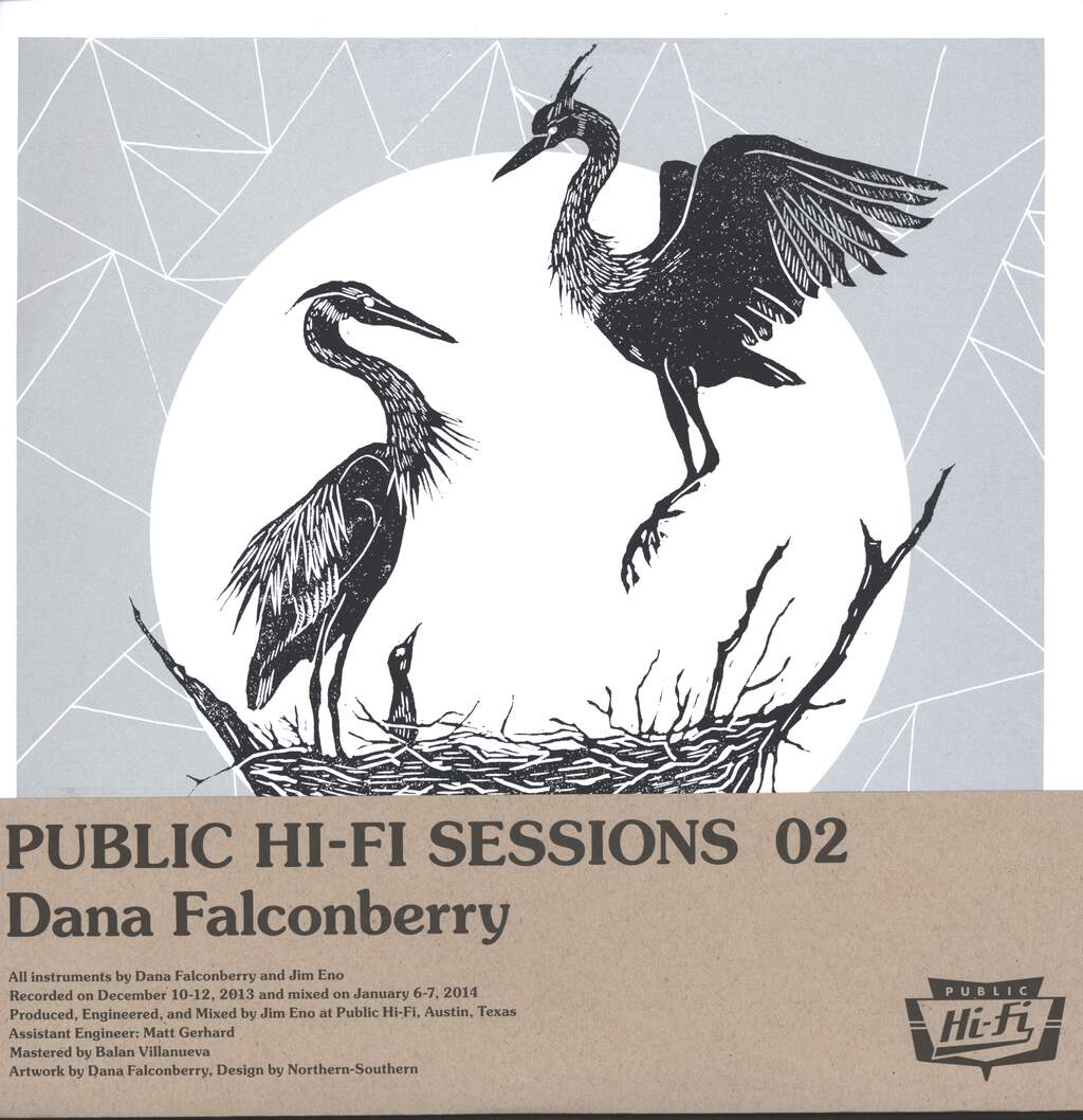 "Dana Falconberry: Public Hi-Fi Sessions 02, 12"" Maxi Single (Vinyl)"