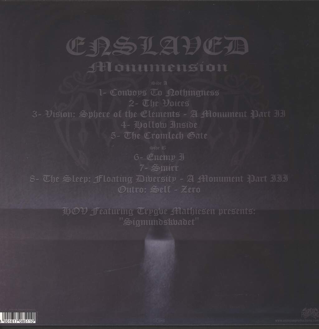 Enslaved: Monumension, LP (Vinyl)