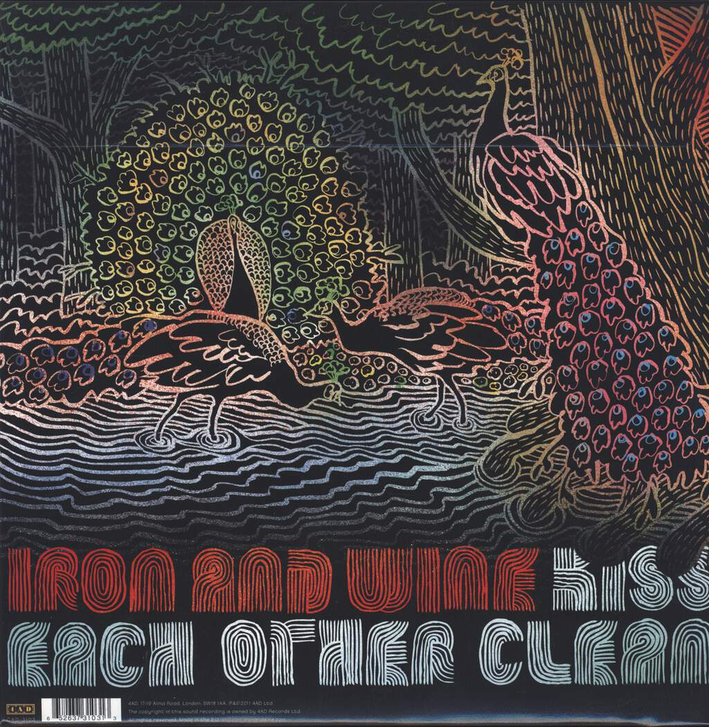 Iron and Wine: Kiss Each Other Clean, LP (Vinyl)