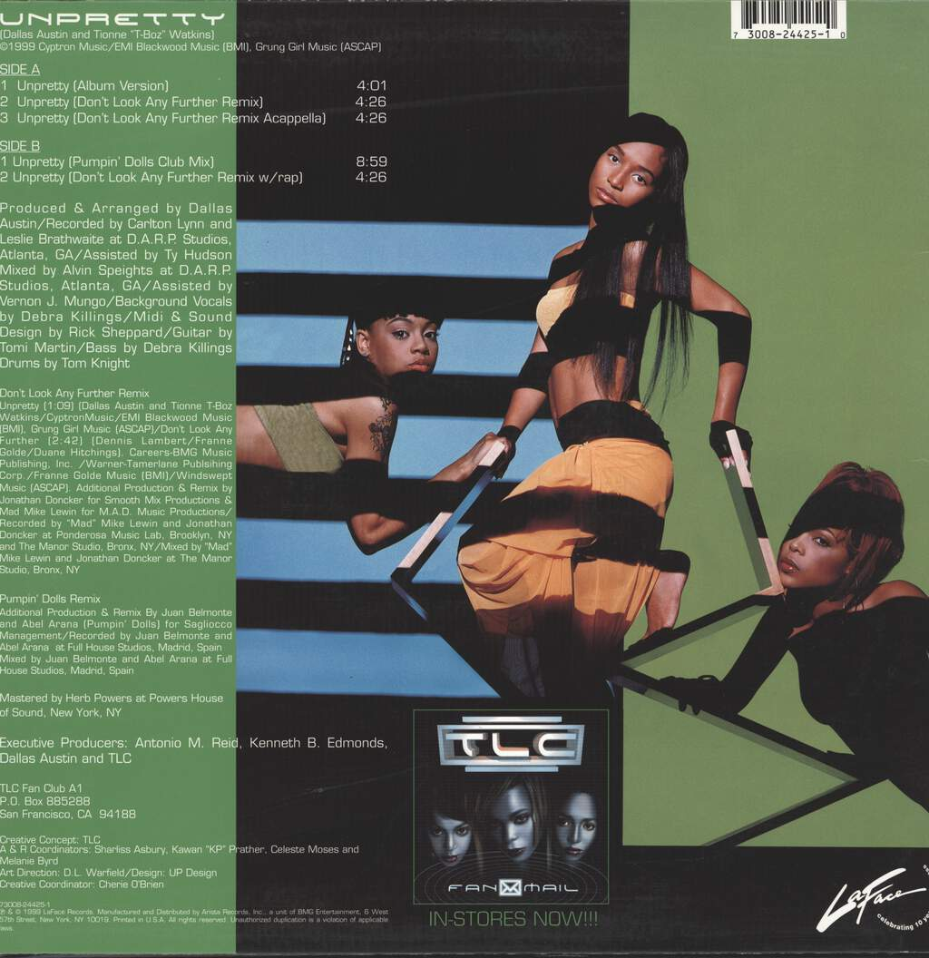 "Tlc: Unpretty, 12"" Maxi Single (Vinyl)"