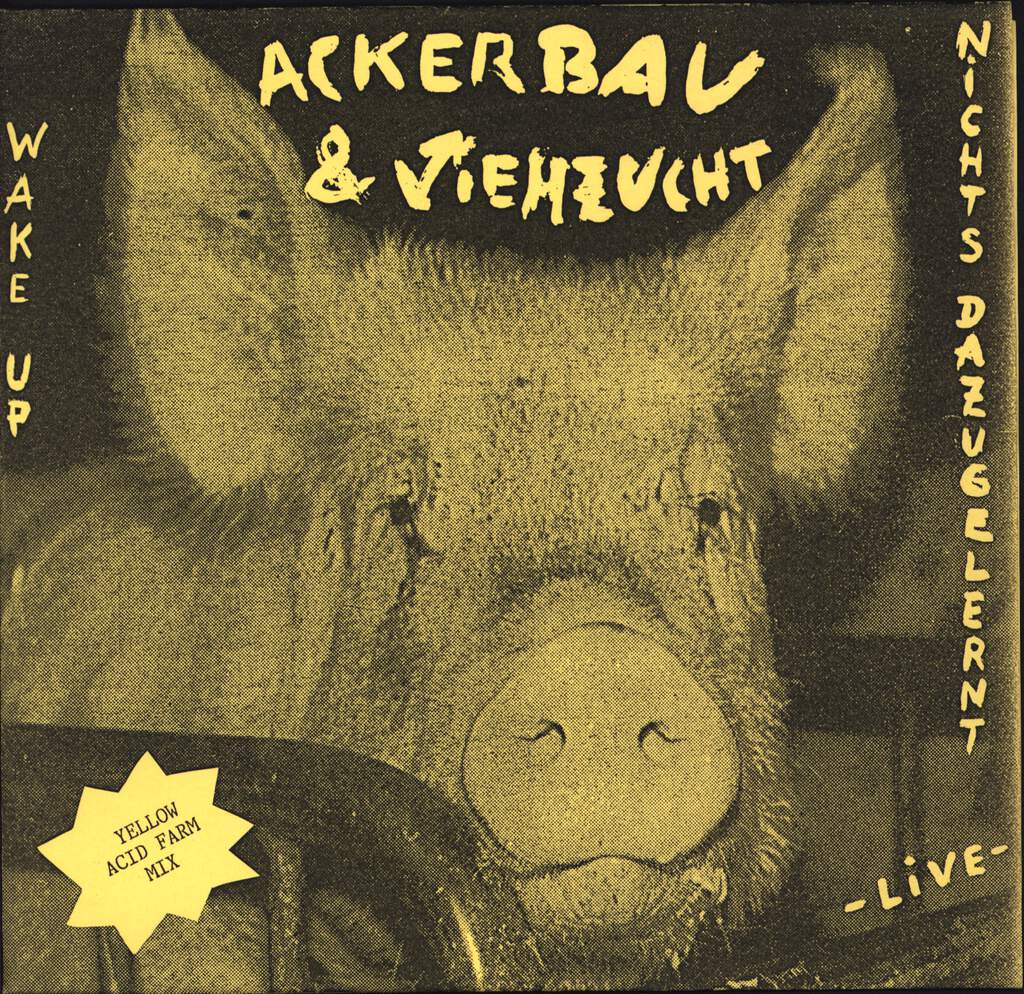 "Ackerbau & Viehzucht: Wake Up, 7"" Single (Vinyl)"