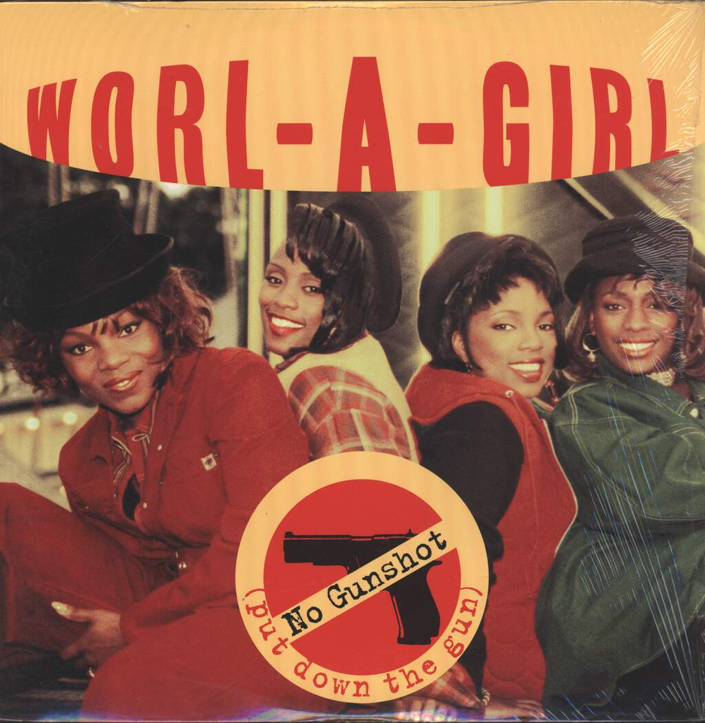"Worl-a-Girl: No Gunshot / X-Amount, 12"" Maxi Single (Vinyl)"