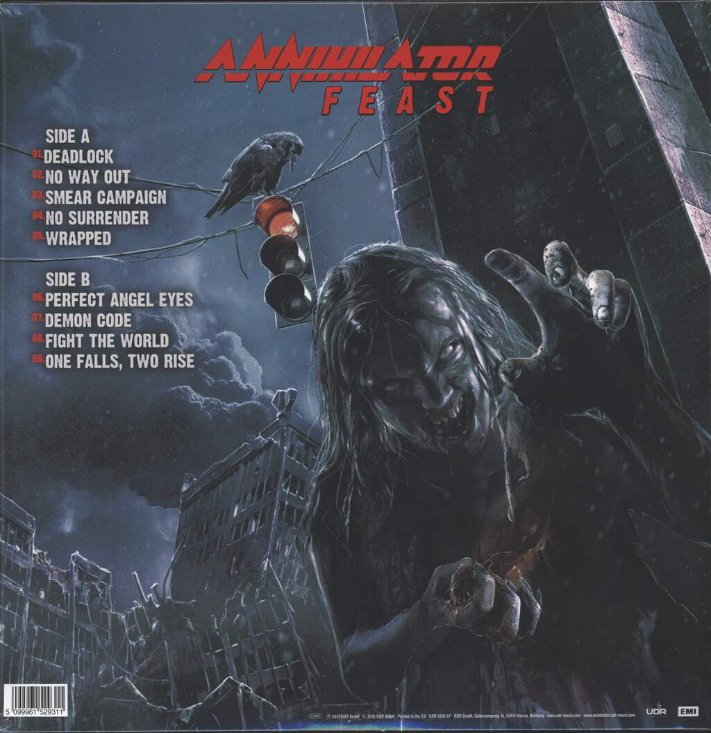 Annihilator: Feast, LP (Vinyl)