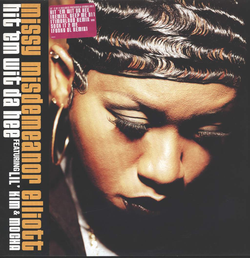 "Missy Elliott: Hit 'Em Wit Da Hee, 12"" Maxi Single (Vinyl)"