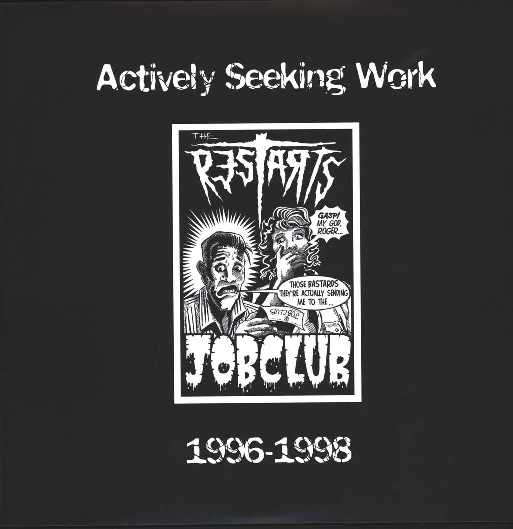 Restarts: Actively Seeking Work 1996-1998, LP (Vinyl)