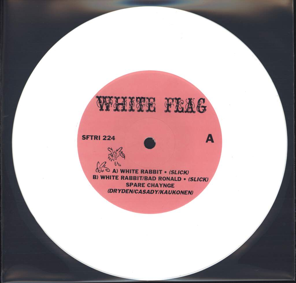 "White Flag: White Rabbit, 7"" Single (Vinyl)"