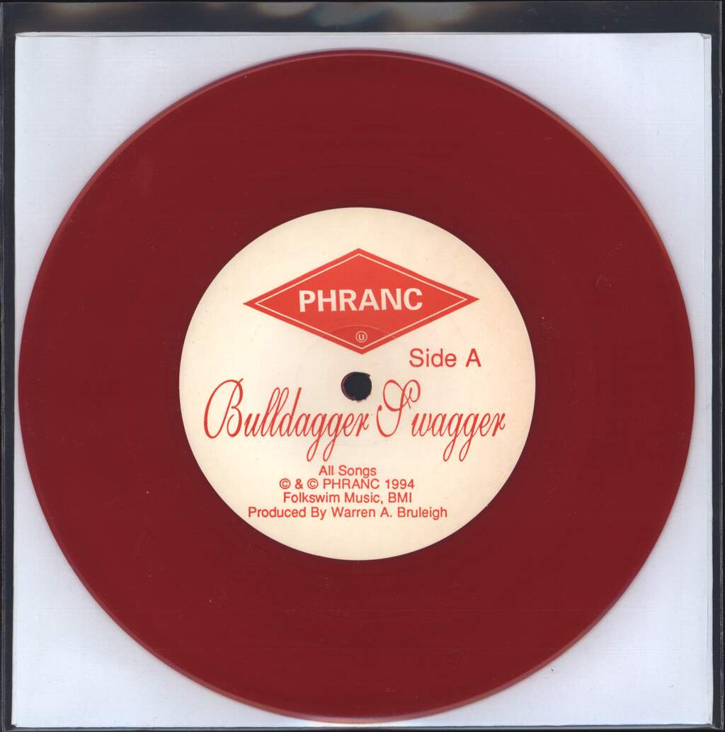 "Phranc: Bulldagger Swagger / Hillary's Eyebrows, 7"" Single (Vinyl)"