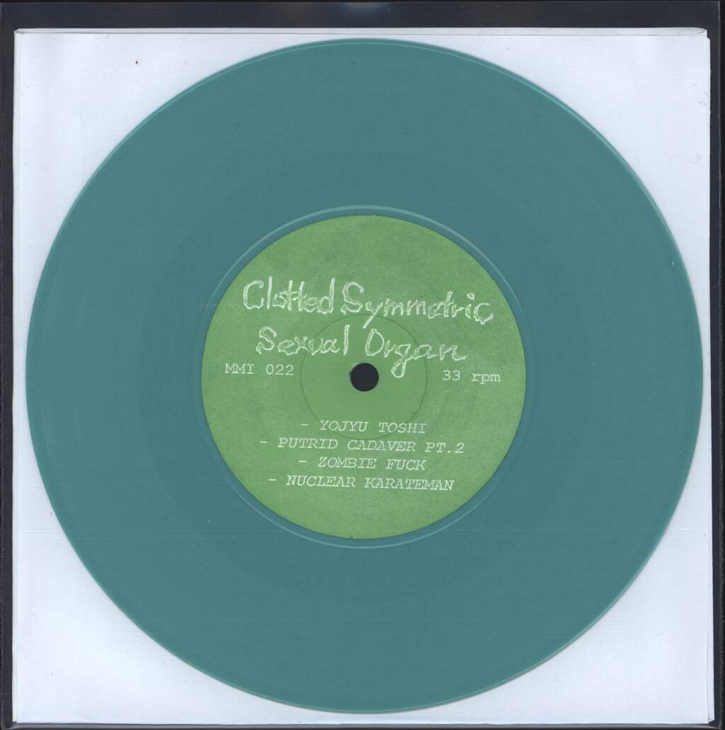 "Clotted Symmetric Sexual Organ: C.S.S.O. / Vivisection, 7"" Single (Vinyl)"
