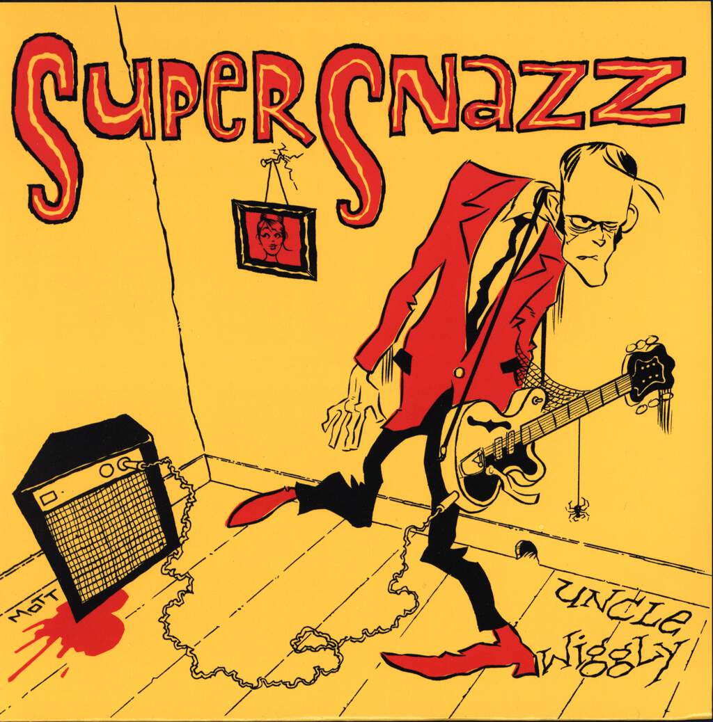 "Supersnazz: Uncle Wiggly, 7"" Single (Vinyl)"