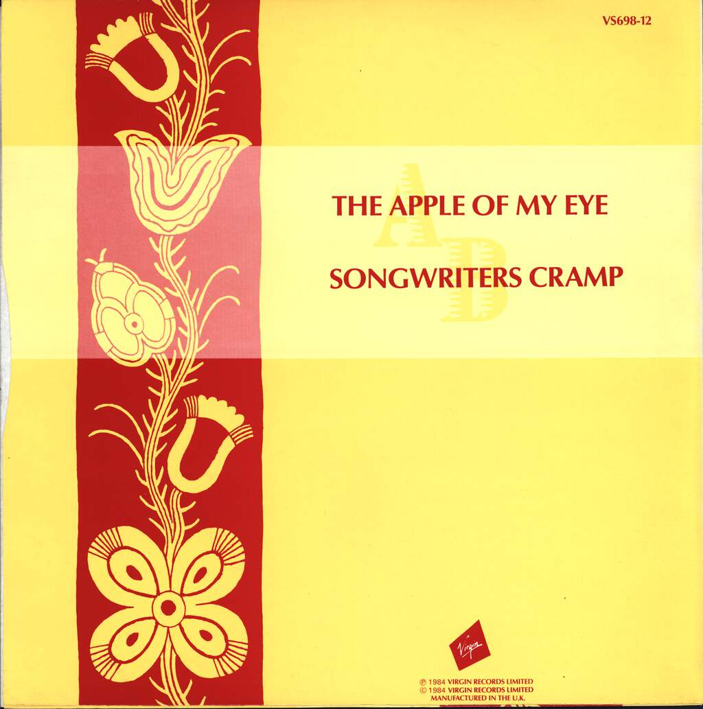 "Carroll Thompson: The Apple Of My Eye, 12"" Maxi Single (Vinyl)"