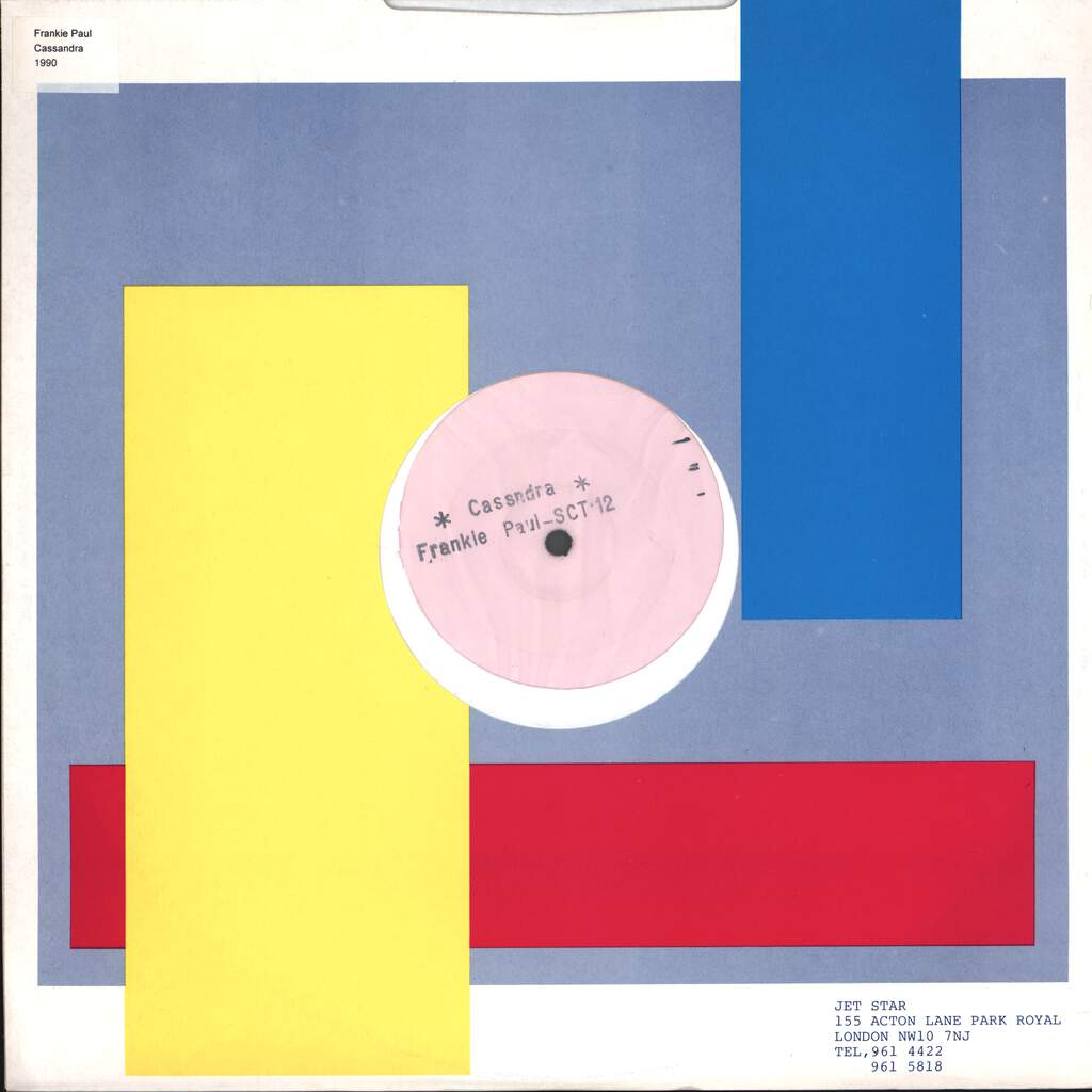 "Frankie Paul: Cassandra, 12"" Maxi Single (Vinyl)"