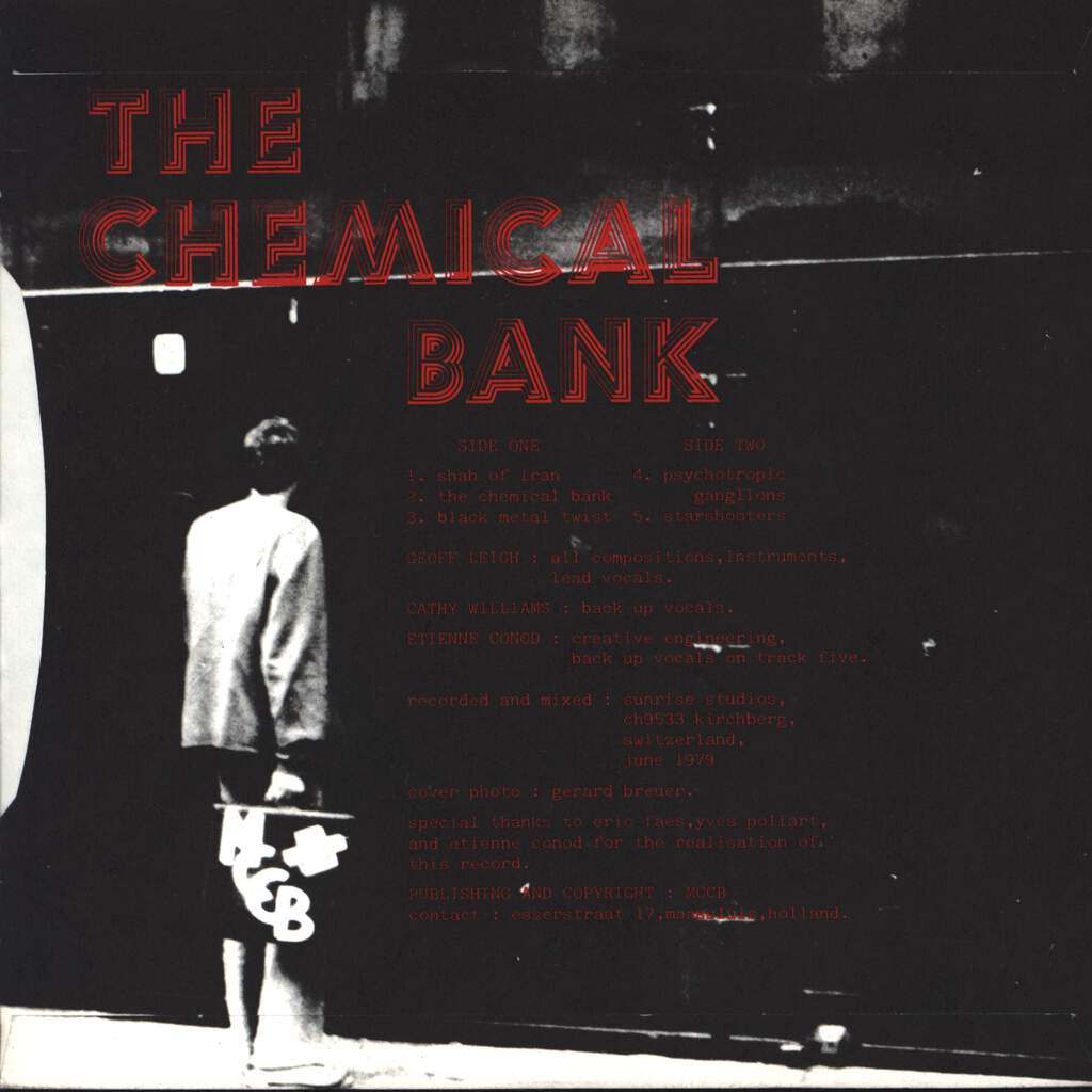 "Geoff Leigh: The Chemical Bank, 7"" Single (Vinyl)"