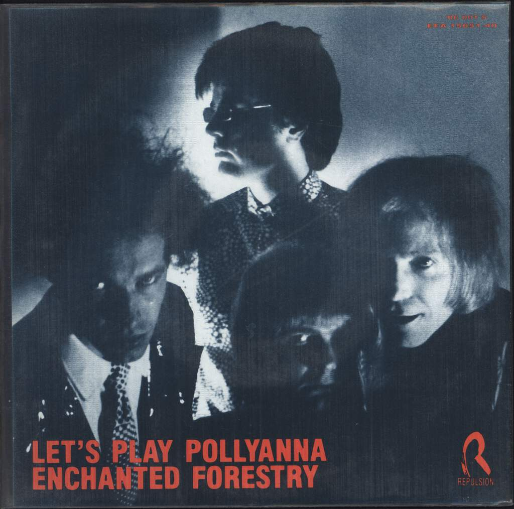 "Plasticland: Let's Play Pollyanna, 7"" Single (Vinyl)"