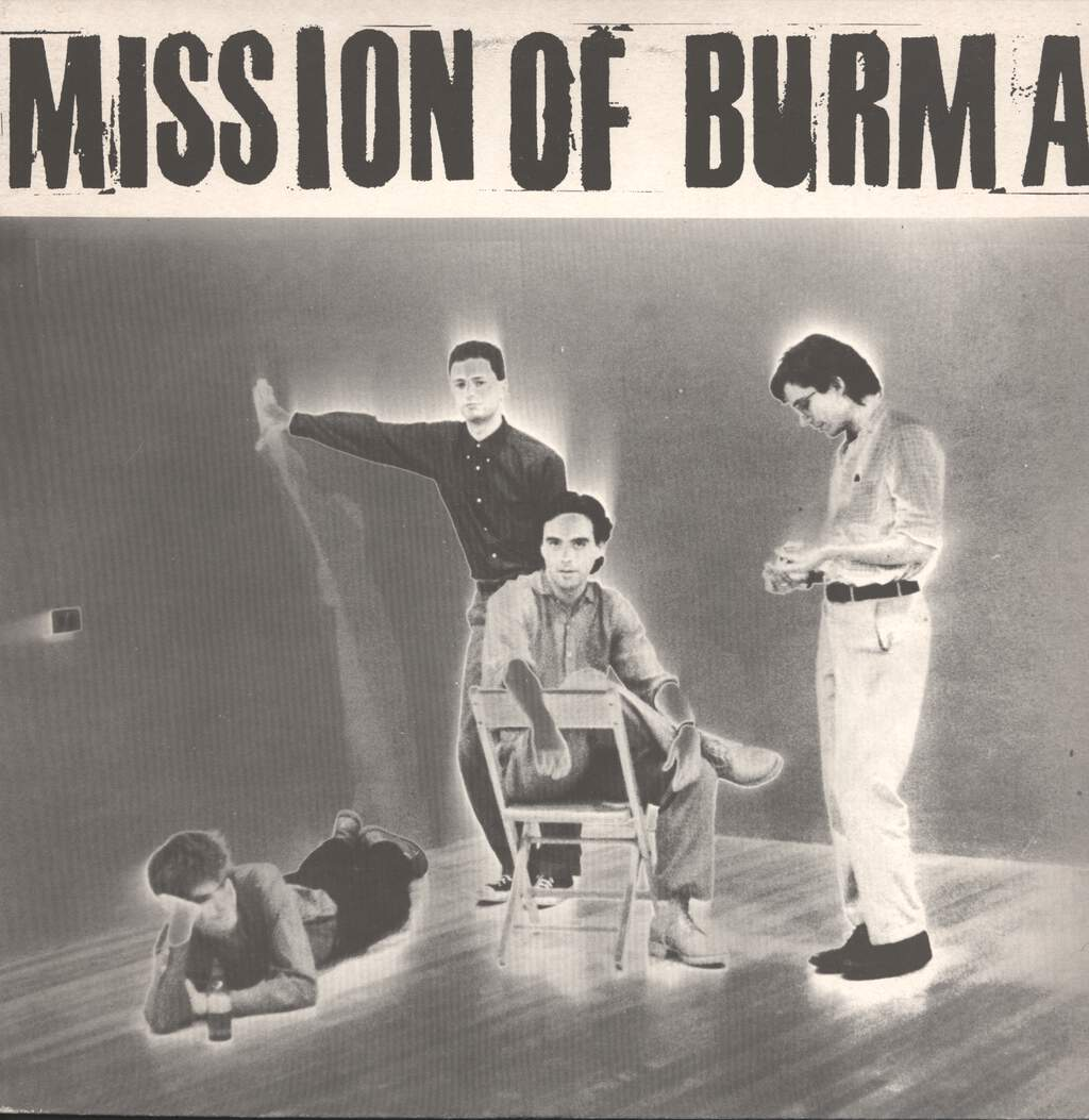 "Mission Of Burma: Mission Of Burma, 12"" Maxi Single (Vinyl)"