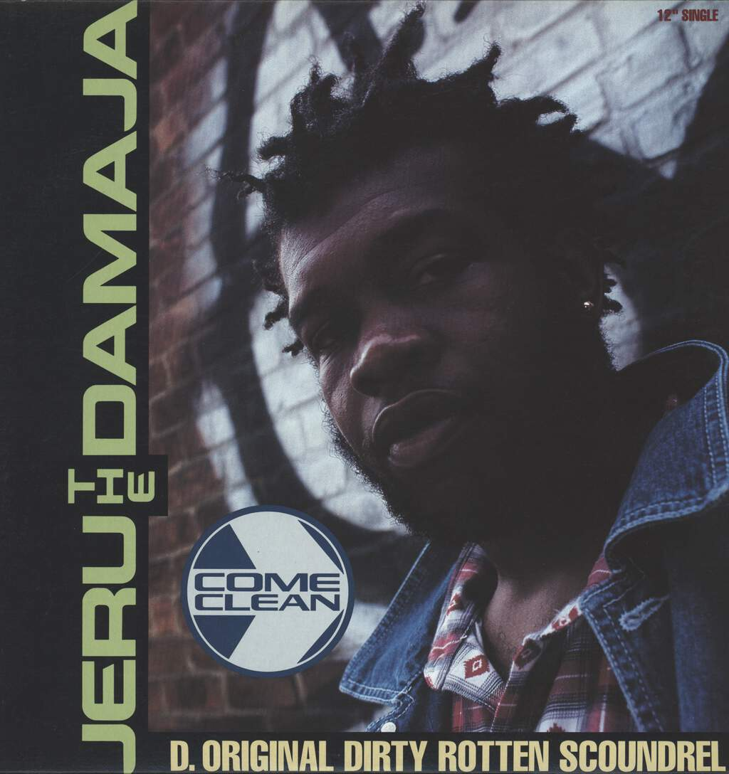"Jeru the Damaja: Come Clean, 12"" Maxi Single (Vinyl)"