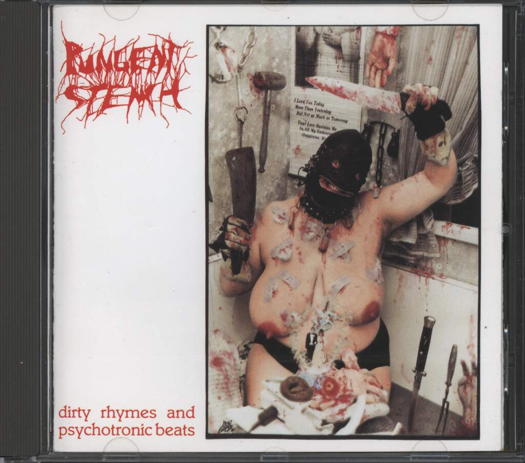 Pungent Stench: Dirty Rhymes And Psychotronic Beats, CD