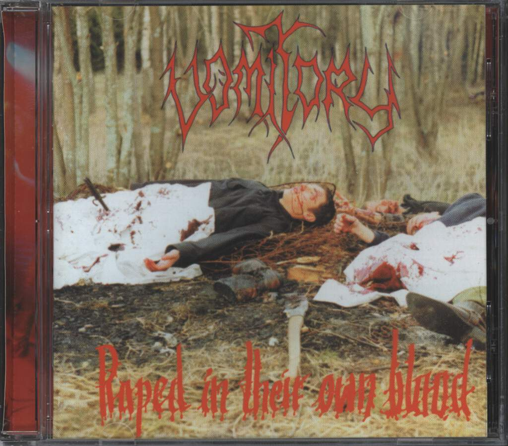 Vomitory: Raped In Their Own Blood, CD
