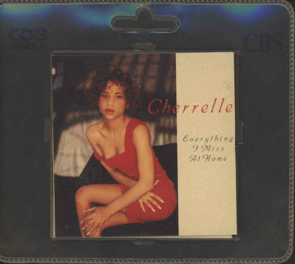 "Cherrelle: Everything I Miss At Home, 3"" CD"