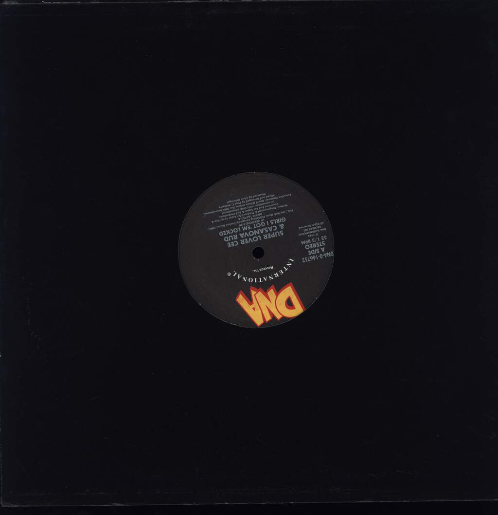 "Super Lover Cee & Casanova Rud: Girls I Got 'Em Locked, 12"" Maxi Single (Vinyl)"