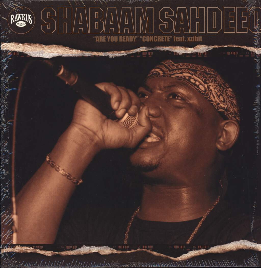 "Shabaam Sahdeeq: Are You Ready / Concrete, 12"" Maxi Single (Vinyl)"