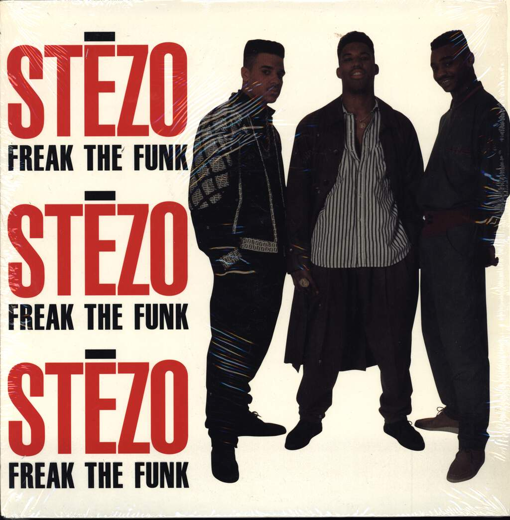 "Stezo: Freak The Funk, 12"" Maxi Single (Vinyl)"