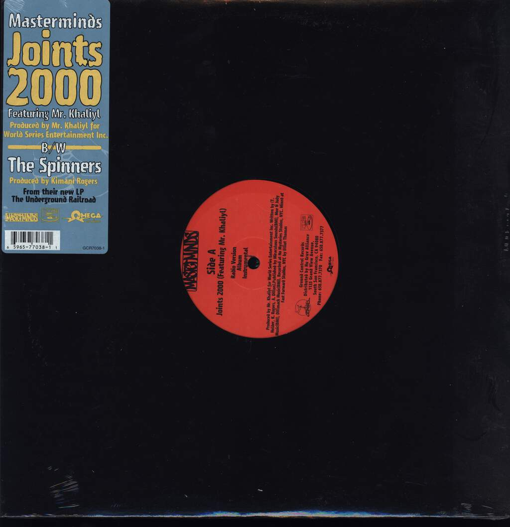"Masterminds: Joints 2000, 12"" Maxi Single (Vinyl)"