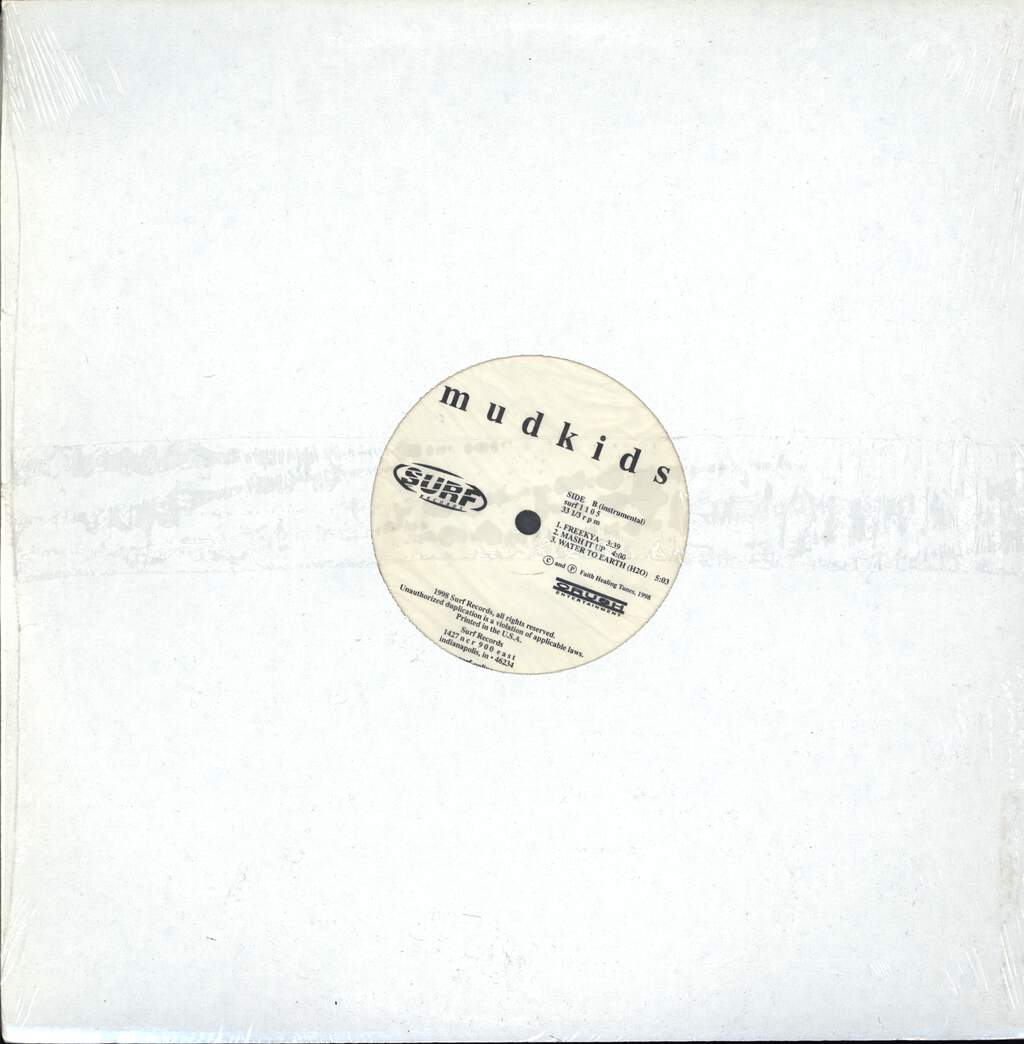 "Mudkids: Freekya / Mash It Up / Water To Earth (H20), 12"" Maxi Single (Vinyl)"