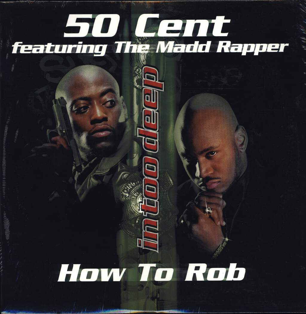 "50 Cent: How To Rob / Rowdy Rowdy, 12"" Maxi Single (Vinyl)"
