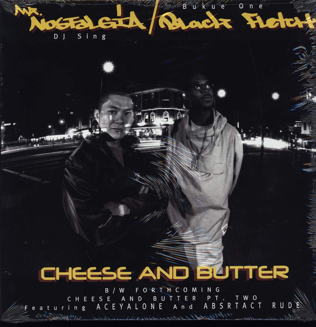 "Mr. Nostalgia: Cheese & Butter, 12"" Maxi Single (Vinyl)"