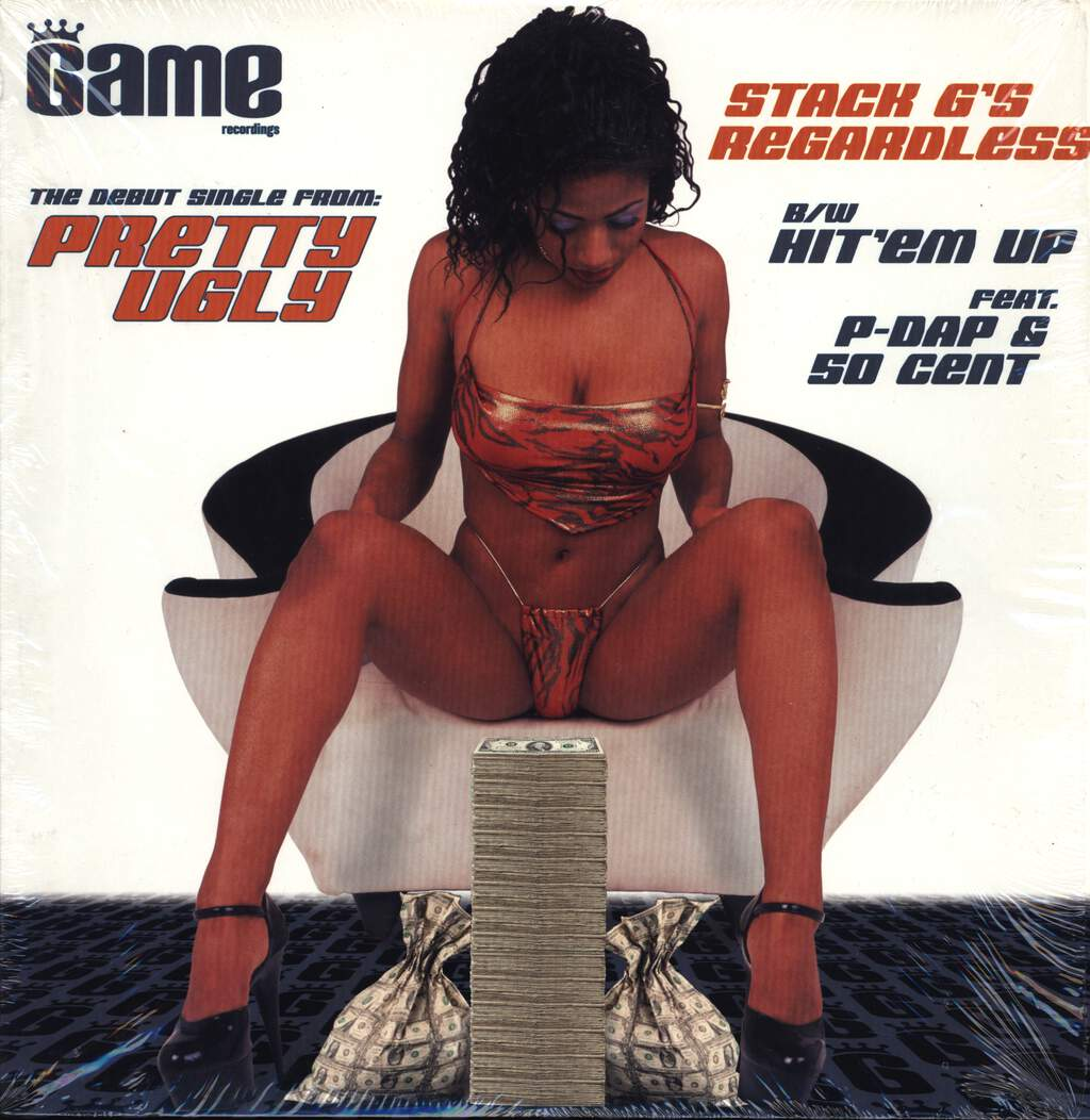 "Pretty Ugly: Stack G's Regardless / Hit 'Em Up, 12"" Maxi Single (Vinyl)"