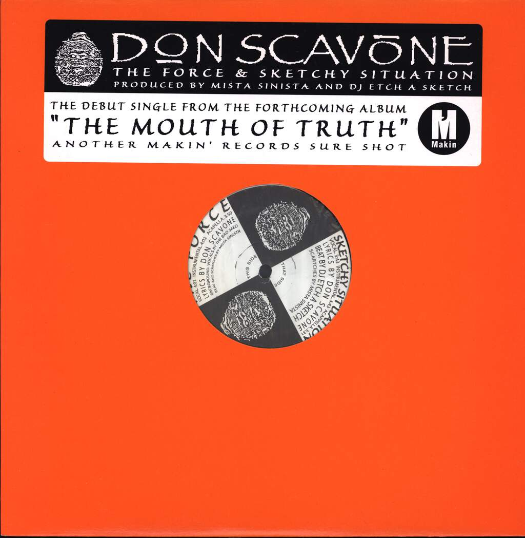 "Don Scavone: The Force / Sketchy Situation, 12"" Maxi Single (Vinyl)"