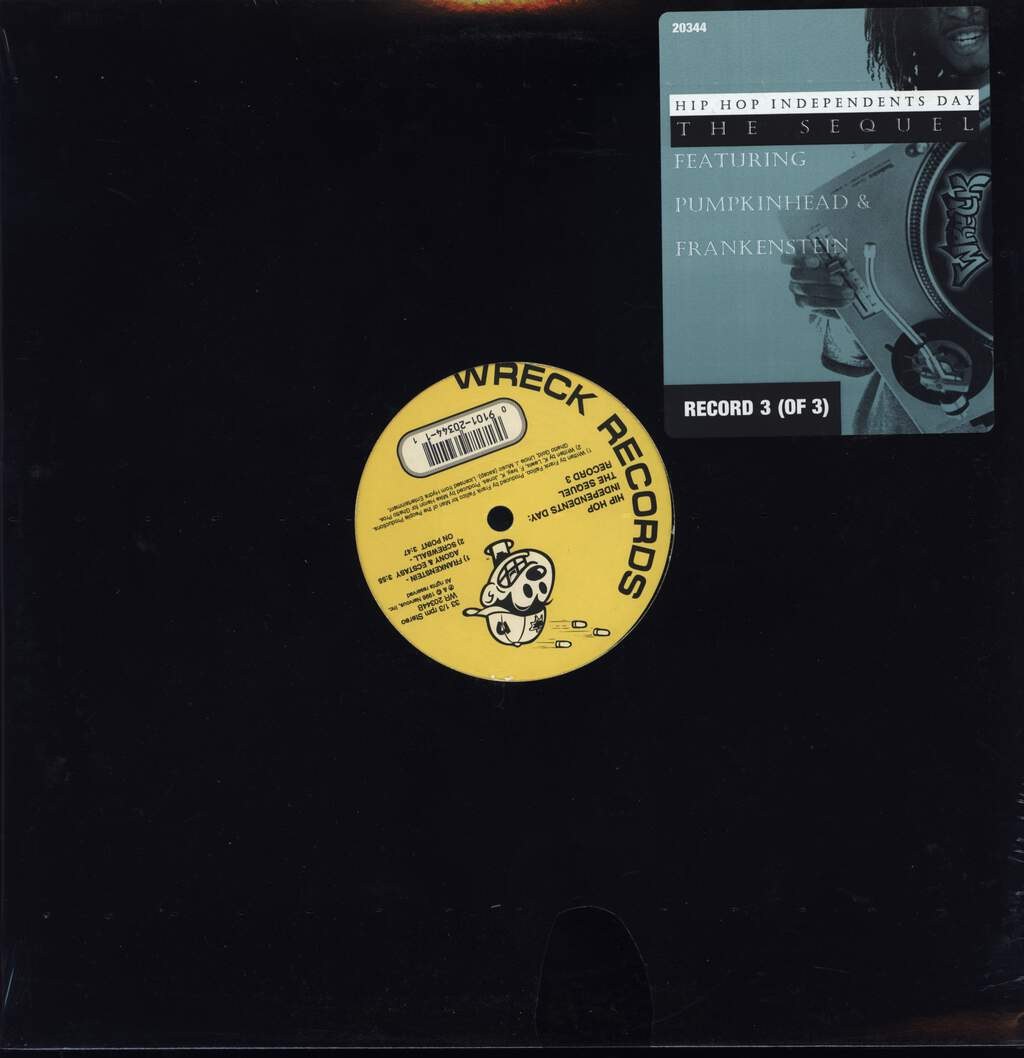 "Various: Hip Hop Independents Day: The Sequel (Record 3), 12"" Maxi Single (Vinyl)"