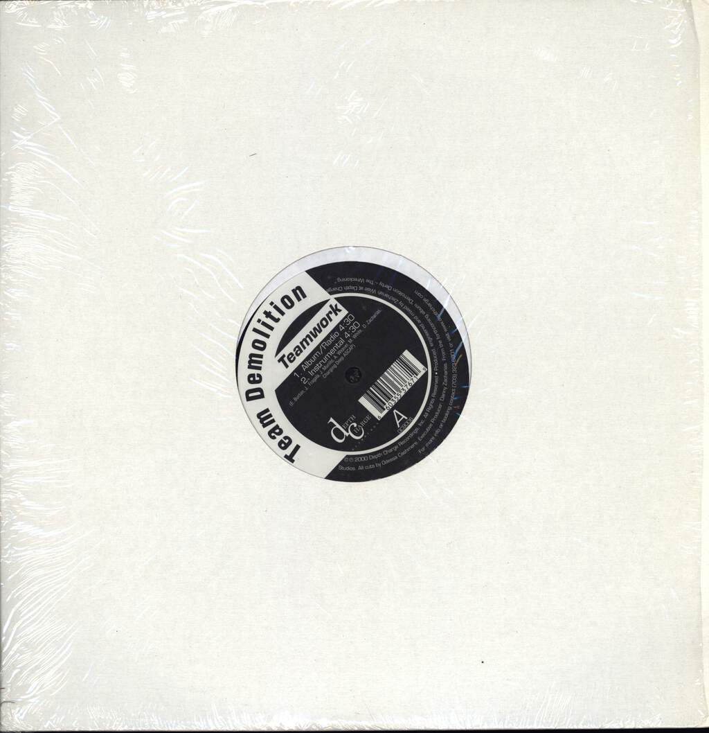 "Team Demolition: Teamwork, 12"" Maxi Single (Vinyl)"