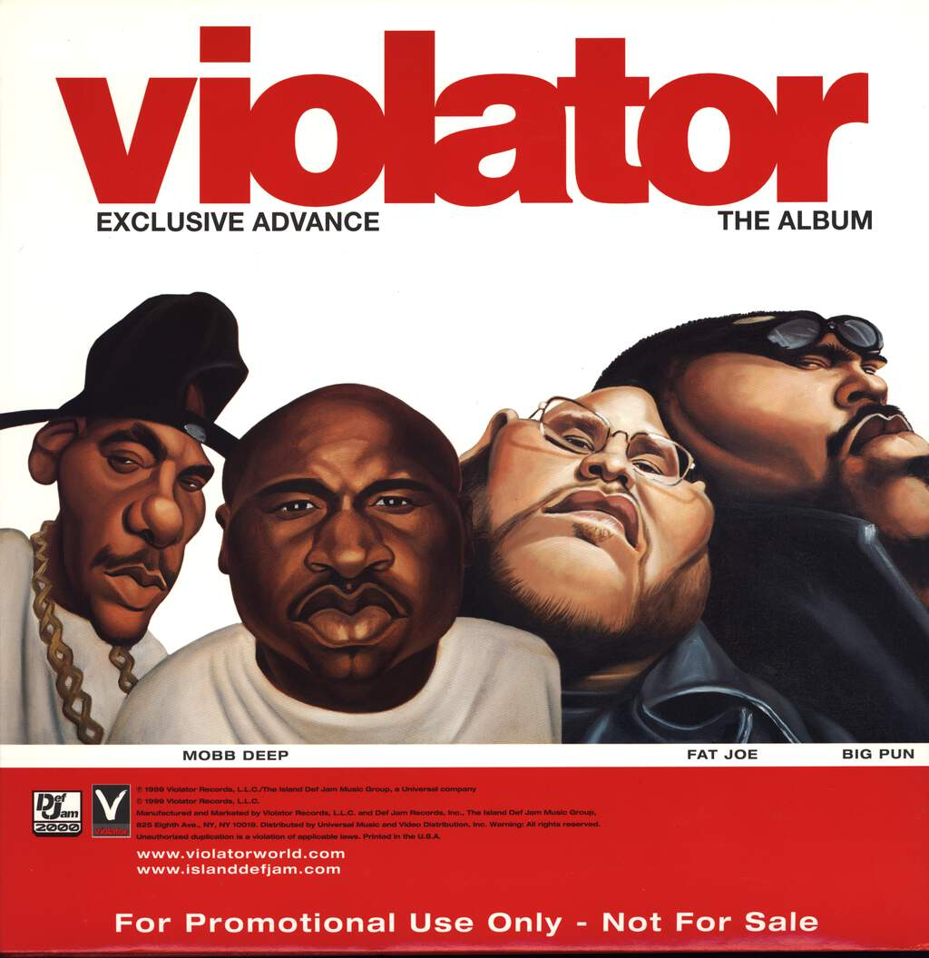 Various: Violator: The Album (Exclusive Advance), LP (Vinyl)