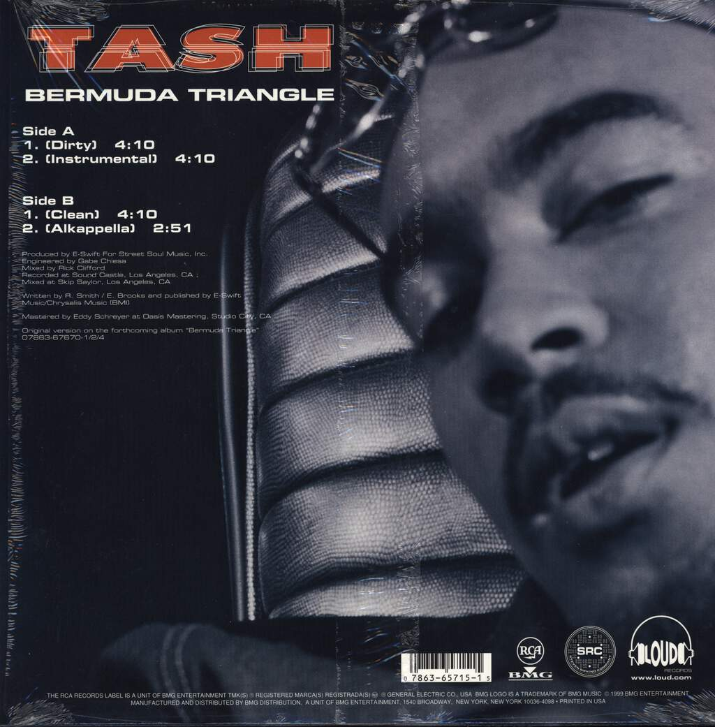 "Tash: Bermuda Triangle, 12"" Maxi Single (Vinyl)"