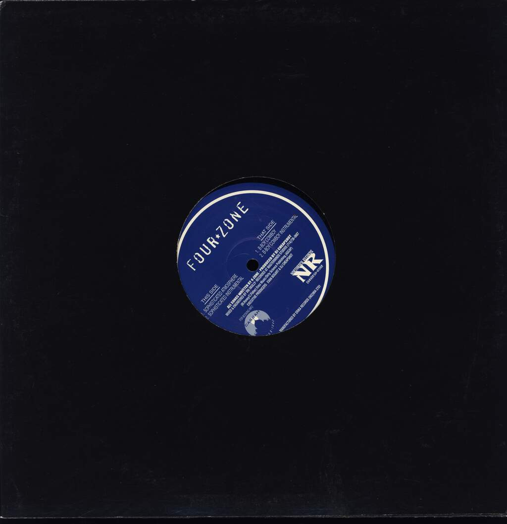 "4-Zone: Sophisticated Atmosphere, 12"" Maxi Single (Vinyl)"