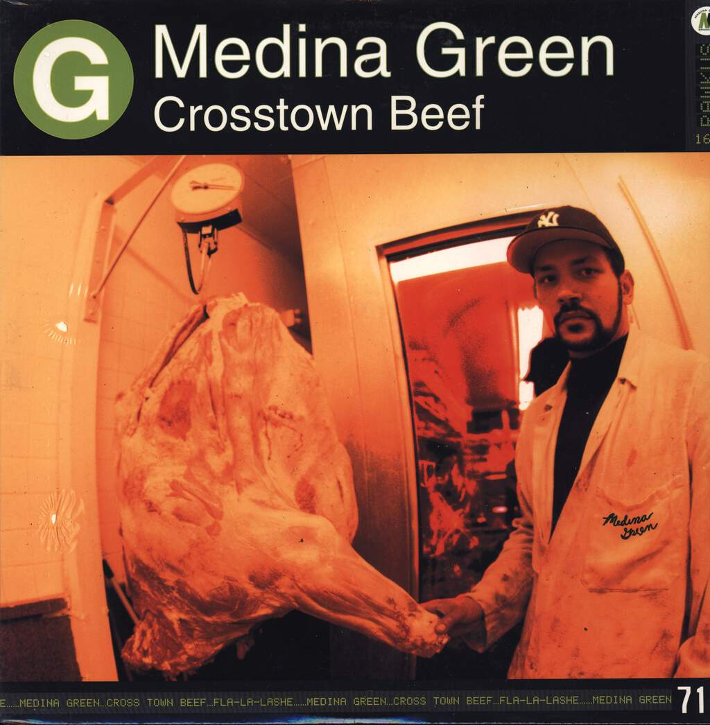 "Medina Green: Crosstown Beef, 12"" Maxi Single (Vinyl)"