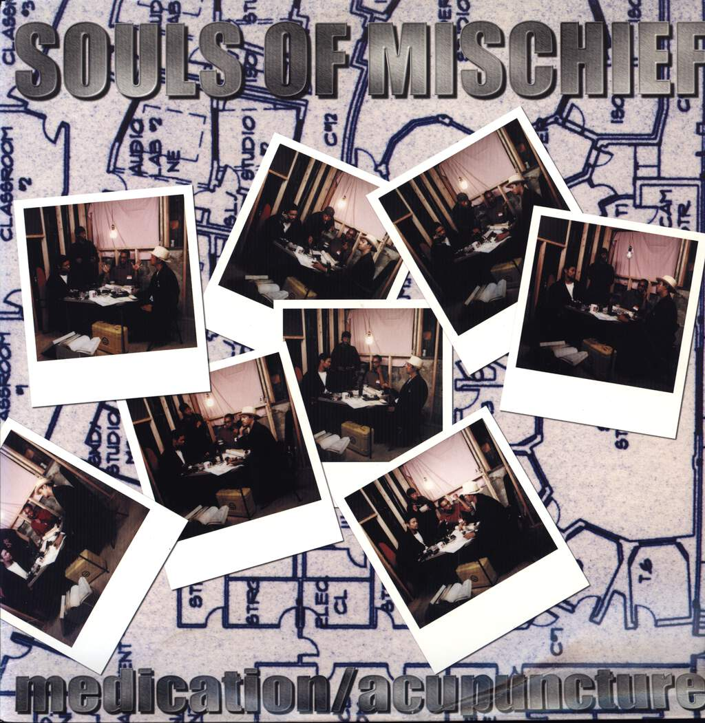 "Souls Of Mischief: Medication / Acupuncture, 12"" Maxi Single (Vinyl)"