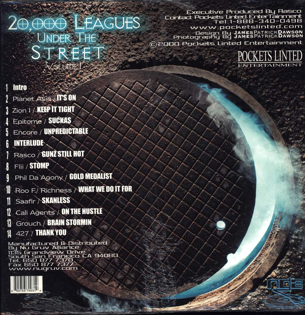 Rasco: Presents: 20,000 Leagues Under The Street - Volume I, LP (Vinyl)