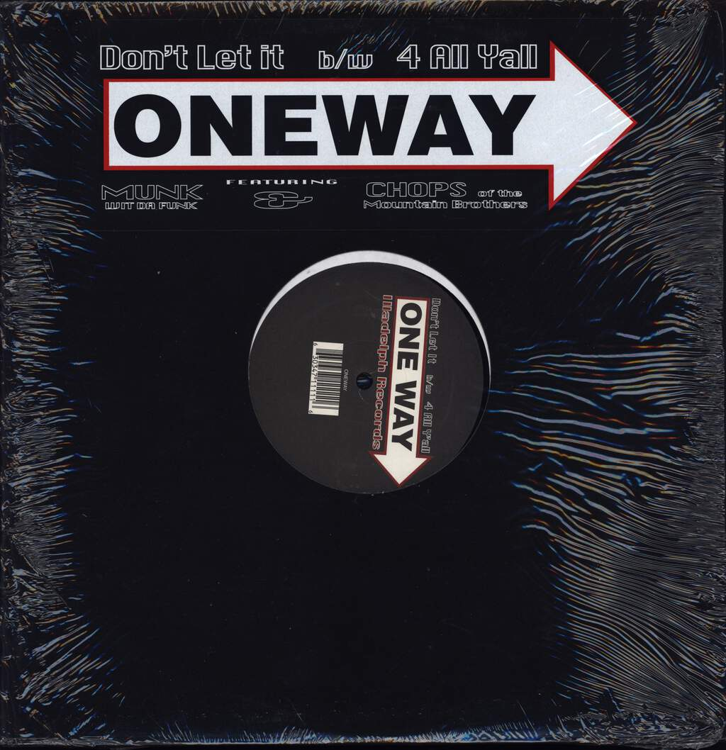 "Oneway: Don't Let It, 12"" Maxi Single (Vinyl)"