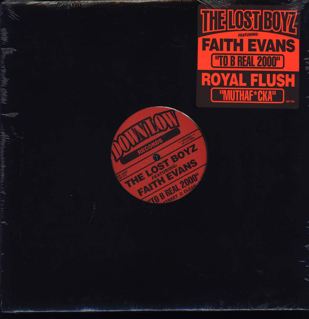 "Lost Boyz: To B Real 2000 / Muthaf*cka, 12"" Maxi Single (Vinyl)"