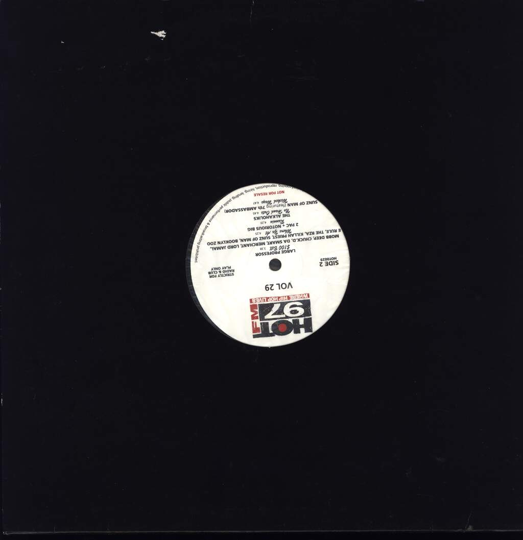 "Various: Vol. 29, 12"" Maxi Single (Vinyl)"
