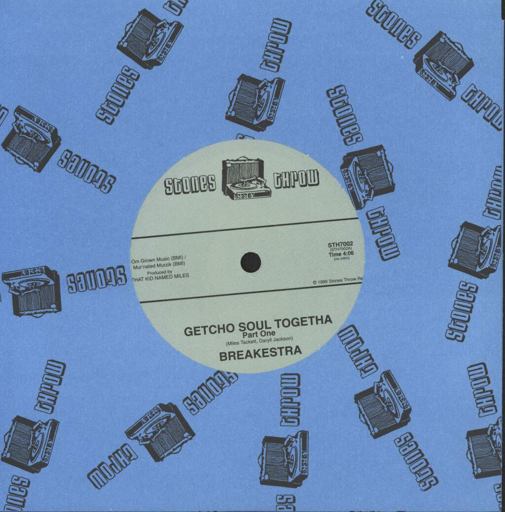 "Breakestra: Getcho Soul Togetha, 7"" Single (Vinyl)"
