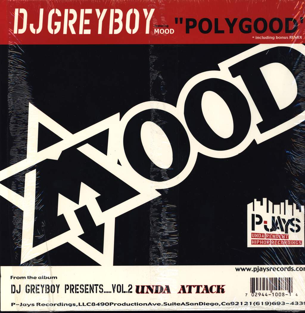 "Greyboy: Polygood / Throw It Up, 12"" Maxi Single (Vinyl)"