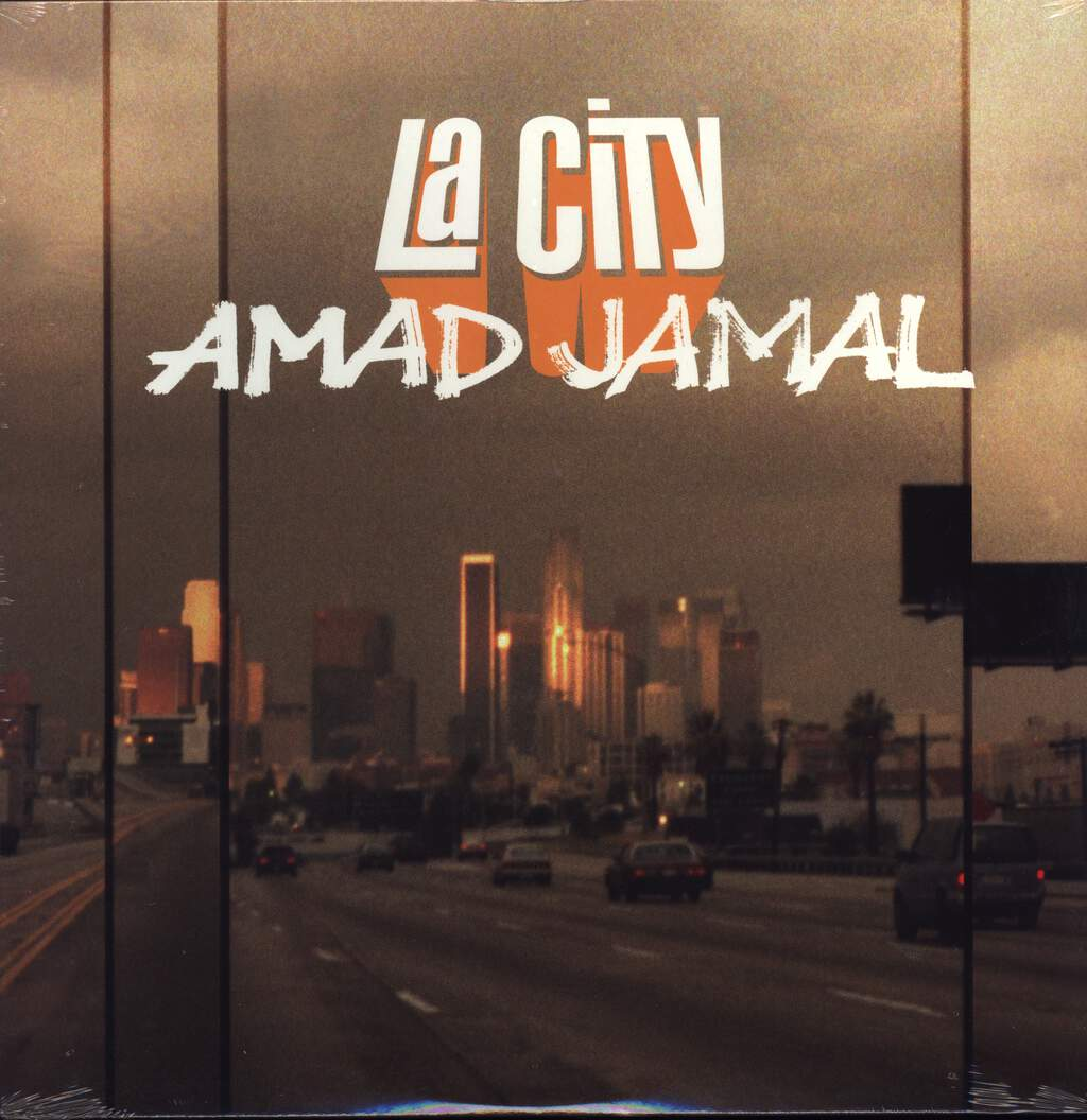 "Amad Jamal: LA City, 12"" Maxi Single (Vinyl)"