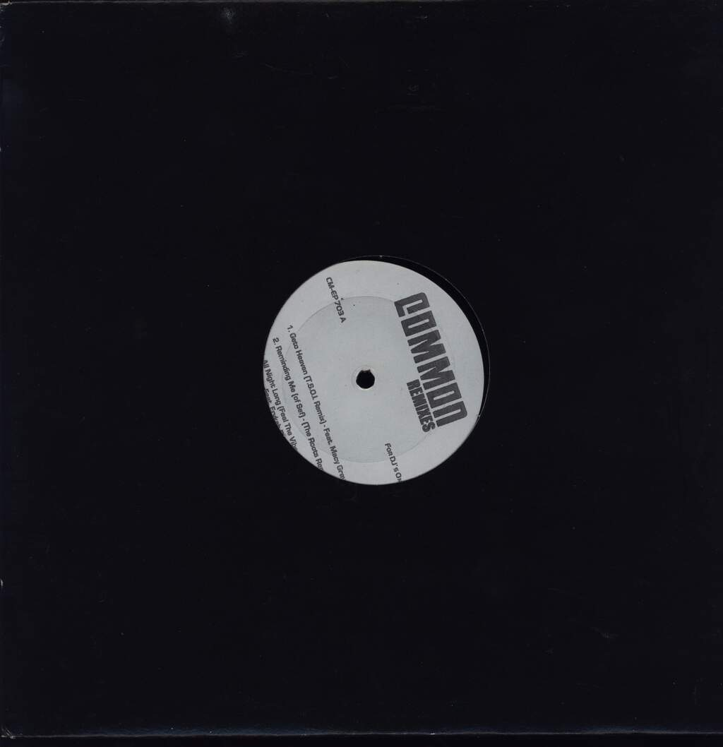 "Common: Remixes EP, 12"" Maxi Single (Vinyl)"